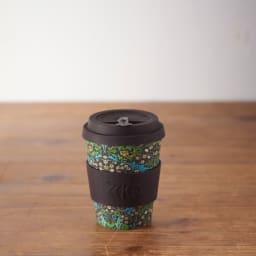 Ecoffee Cup/エコーヒーカップ 容量355ml ウィリアム・モリス柄 1個 (ア)Blackhorn
