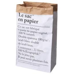 BE-POLES PAPER BAG(ビーポール/ペーパーバッグM) Mサイズ