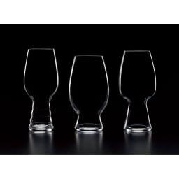 SPIEGELAU(シュリール) テイスティンググラスキット【シュピゲラウ】 左から、【IPA】【アメリカン・ウィート】【STOUT(スタウト)】