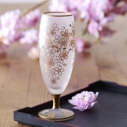 SAKURA 酒グラス 春を感じる上品なデザイン。お酒も進みますね。