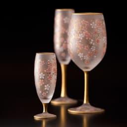 SAKURA 酒グラス イメージ