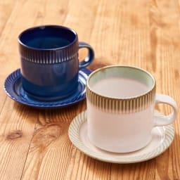 ポトペリー blur ペア デミタス コーヒーカップ&ソーサー 小柄なコーヒーカップです。