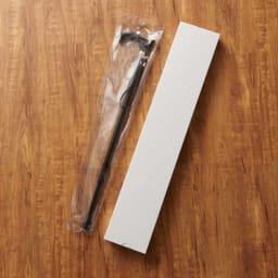 カインドケア/レザータッチ 伸縮ステッキ (ア)ブラック ※商品は袋+白箱にいれてお届けします。