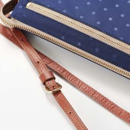 FRAME WORK お財布ポシェット (イ)ネイビー ※ネイビーのみバッグ色に合わせてショルダーの色が異なります