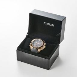 CITIZEN/シチズン 【メンズ】 エコ・ドライブ腕時計 ヨットタイマー搭載 JR4046-03E 専用ケース入り