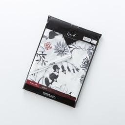 朝倉染布 濡れない撥水ふろしき 雪月花「花」 パッケージ
