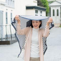 濡れない はっ水風呂敷 薄墨桜 急に降られたら雨除けにも。(写真は同素材:商品番号603503)