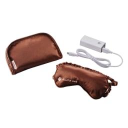 ルルド めめホットチャージビューティー セット内容 本体、携帯用ポーチ、充電用リチウムイオン電池