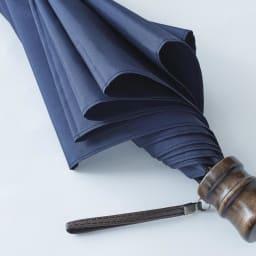 [メンズ]小宮商店ミラトーレ折畳み傘 (イ)ネイビー