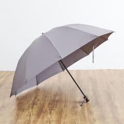 [メンズ]小宮商店ミラトーレ折畳み傘 (ウ)グレー