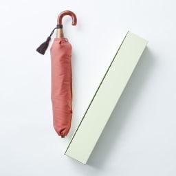 [レディース]小宮商店かさね折畳み傘(名入れ有) 化粧箱入り