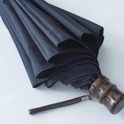 [メンズ]小宮商店ミラトーレ折畳み傘(名入れ有) (ア)ブラック