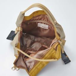 BASARA TYO/バサラ ファビオ はっ水軽量2WAYバッグ オープンポケット×2個、ファスナーポケット×1個