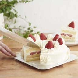 つばめのパンナイフ 長いのでホールケーキカット時も使える