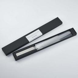 ヨシタ手工業デザイン室 パン切りナイフ 専用箱入りでギフトにもおすすめ