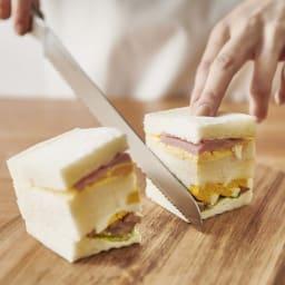 ヨシタ手工業デザイン室 パン切りナイフ サンドウィッチも、