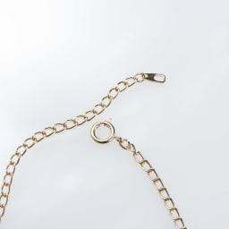 碌山 ラピスラズリペンダント       チェーンの環が大きいので、お好みの長さで留められます。