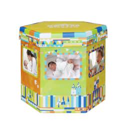 【出産祝い】おむつBOX フォトフレーム付