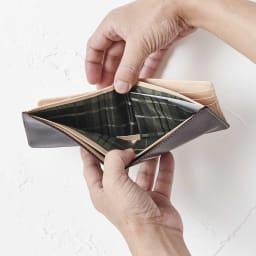 ブライドル レザー 二つ折り財布