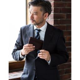 ブライドルレザー長財布(名入れ刻印・名入れオーダー) (イ)バーガンディ