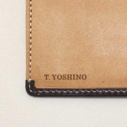 ブライドルレザー長財布(名入れ刻印・名入れオーダー) 刻印名入れイメージ