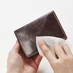 ブライドルレザー長財布(名入れ刻印・名入れオーダー) ※ブライドルレザーの特性上、ワックス(蜜蝋)が白く浮き出ています。白い粉が気になる場合は、柔らかい布かレザーケア用のワックス、ブラシ等で落としてご利用されることをおすすめします。