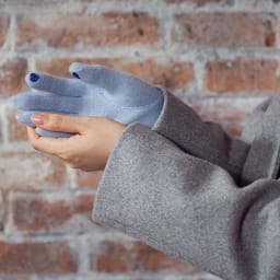 [婦人]日本製タッチパネルカシミア手袋