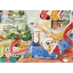 名入れ絵本 シキとおたんじょうびさんぽ(手渡しで贈り物する方に便利な「ギフト包装材」付き)