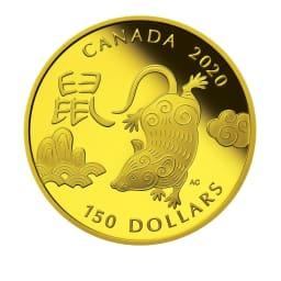 2020年「子年」金貨 150カナダドル