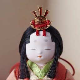 桐箱入とのとひめ 雛人形 ふっくらとした優しい表情