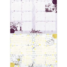 【ディノス限定販売】MOOMIN/ムーミン フルカラー5年日記(連用日記) 名入れなし 9月・10月日記ページ
