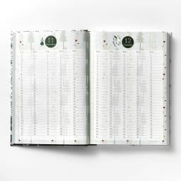 【ディノス限定販売】MOOMIN/ムーミン フルカラー5年日記(連用日記) 名入れなし 誕生日や旅行予定などが書き込め、一目でわかりやすい「年間スケジュール」