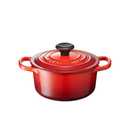 LE CREUSET/ル・クルーゼ シグニチャー ココット・ロンド 16cm (ウ)チェリーレッド