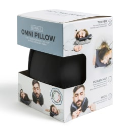 BANALE/バナーレ OMNI PILLOW オムニピロー 3in1 パッケージ ※一部デザインが変更になる場合がございます。