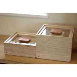 日本製 桐の米びつ 5kg リビングやキッチンに置いてもなじみ、インテリアのようにおしゃれ。※写真は別サイズです