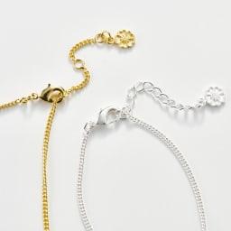 AZUNI ドロップネックレス  【イギリス王室キャサリン妃着用で話題のブランド】 サイズ調整できるフック式留め具。 ※アジャスターチェーンの仕様は画像と異なる場合がございます