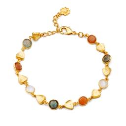 AZUNI バングル  【イギリス王室キャサリン妃着用で話題のブランド】 (ア)ゴールドオレンジ