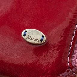 Dakota(ダコタ)/イタリア製牛革光沢なめし財布 長財布 (ア)レッド