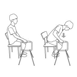 LOHATES/ロハテス 立ち上がり補助手すり・トレー付き 椅子からの立ち上がりに。