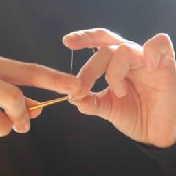 Tsunagari /タカハシナオミ クロッシェ ピアス アーティスト・タカハシナオミが、ひとつひとつ心を込めて、丁寧に編み上げます。