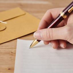 プラチナ万年筆 ボールペン なめらかな書き心地。