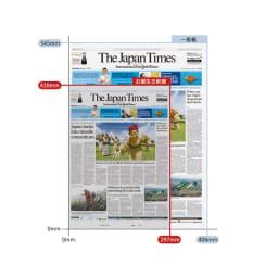 お誕生日新聞 古希(70枚セット) A3サイズ(約297×420mm)の縮小版にし、グレー色の上質紙に印刷します。