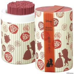 ディズニー ルームインセンス  <美女と野獣>薔薇の香り(華やかなローズにイランイランを配合した女性らしい香り。)(イ)くまのプーさん&美女と野獣 ※2個セットです