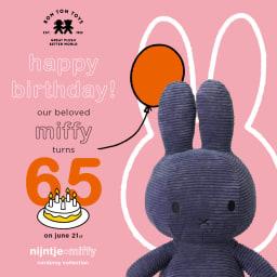 ミッフィー コーデュロイぬいぐるみ 23cm 65周年記念で登場!