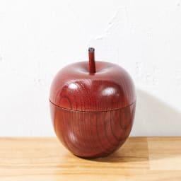 山中漆器 りんごっこ マルチカップ 1個 (ア)赤