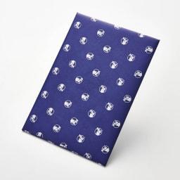 ごっつお便FBコース 包装紙 ブルー