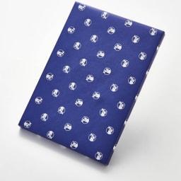ごっつお便FGコース 包装紙 ブルー