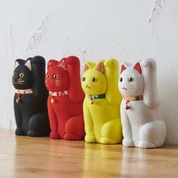 くろちく 古布木目込人形 招き猫