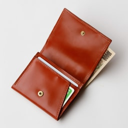 グレンロイヤル カードケース (ウ)オックスフォードタン  カード類とお札をスッキリ収納できます。