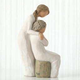 ウィローツリー彫像 Loving My Mother 大好きなお母さん
